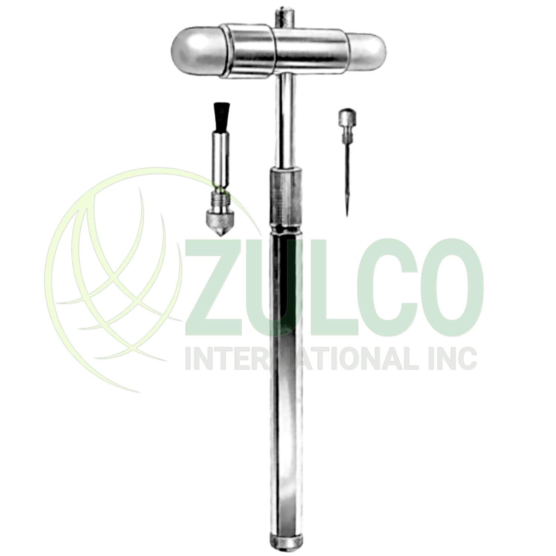 Buck Neurological Hammer Telescopic 18cm C.P - Item Code 02-1108-18