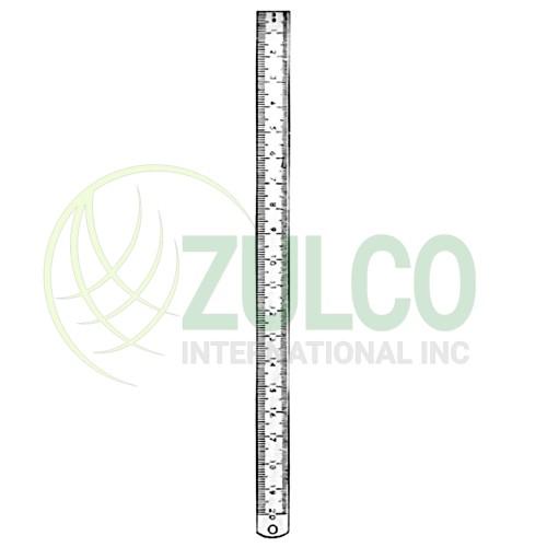 Ruler Metal 60cm - Item Code 02-1123-60