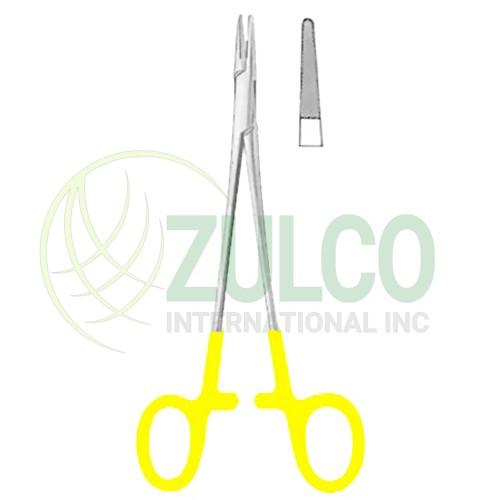"Baby-Crile-Wood Needle Holders BJ 15cm/6"" TC GOLD - Item Code 09-2658-15"
