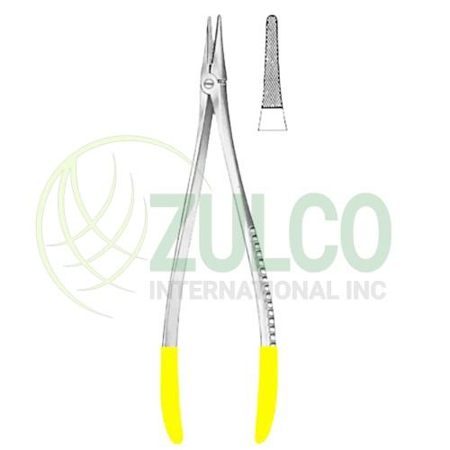 """Axhausen Needle Holders SJ 18.5cm/7 1/4"""" TC GOLD - Item Code 09-2683-18"""