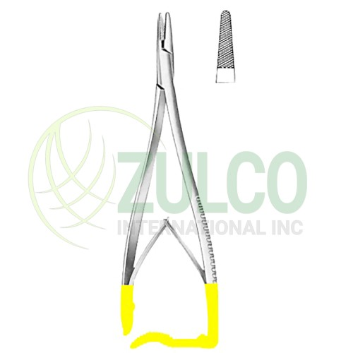 "Zweifel Needle Holders BJ 23cm/9"" TC GOLD - Item Code 09-2684-23"