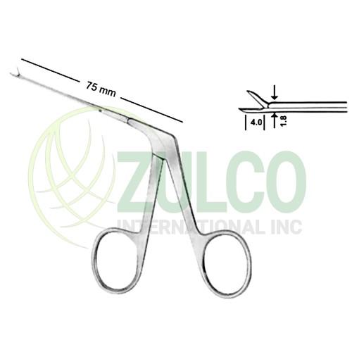"Bellucci Micro Scissors 0.8mm 8cm/3 1/4"""