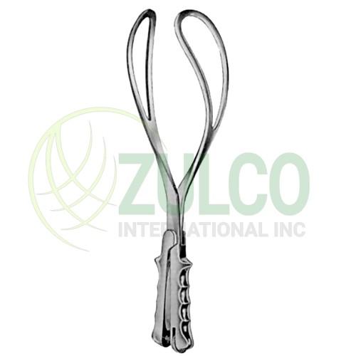 """Elliot Obstetrical Forceps 38cm/15"""" - Item Code 27-6538-38"""