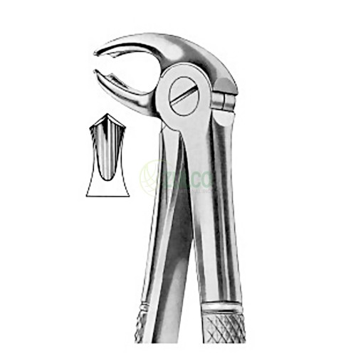 Extracting Forceps English Pattern Fig. 22G Lower Molars - Item Code 1020