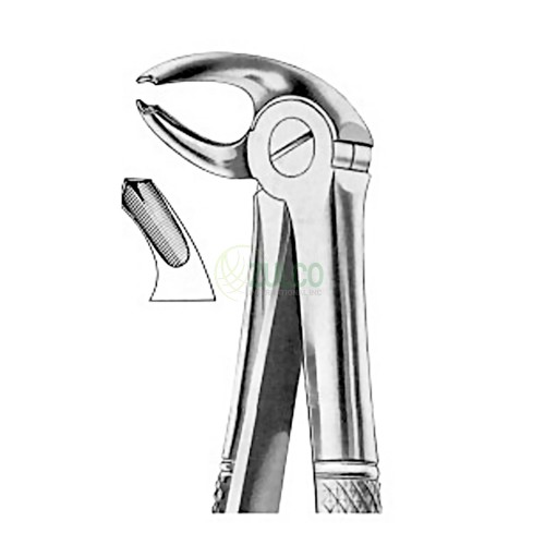 Extracting Forceps English Pattern Fig. 24 Lower Molars Right - Item Code 1022