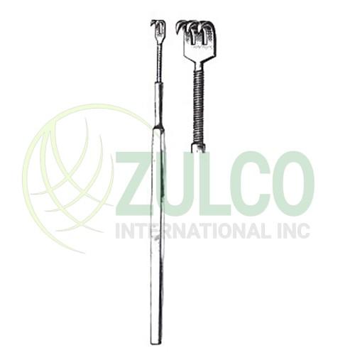 Tissue Retractors & Hooks 2 Sharp Prongs 6'' - Item Code 2622