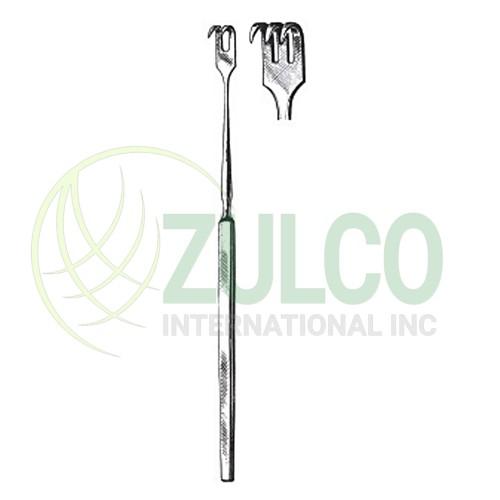 Tissue Retractors & Hooks 2 Sharp Prongs 6'' - Item Code 2623