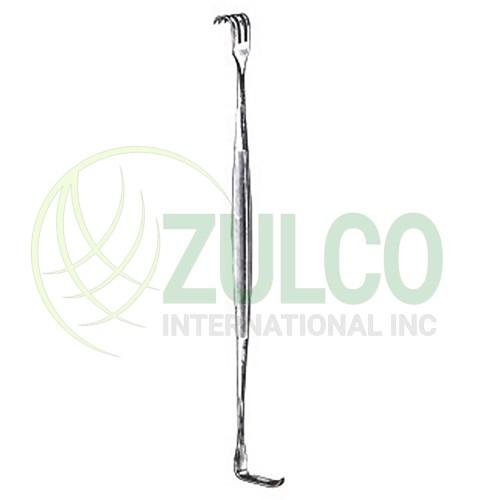 Tissue Retractors & Hooks Senn 3 Sharp Prongs 6 3/8'' - Item Code 2626