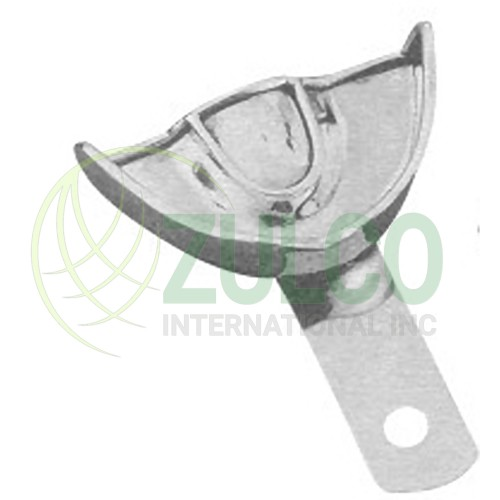 Impression Trays For Crown & Bridge Work Solid U1P - Item Code 2927