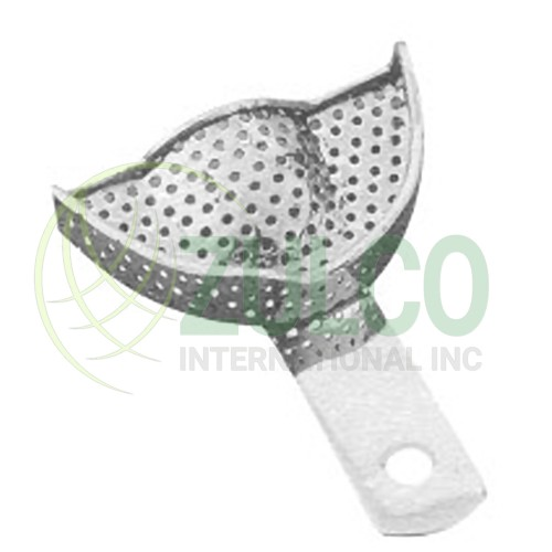 Impression Trays For Crown & Bridge Work Perforated U1P - Item Code 2929
