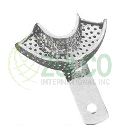 Impression Trays For Crown & Bridge Work Perforated L1P - Item Code 2930