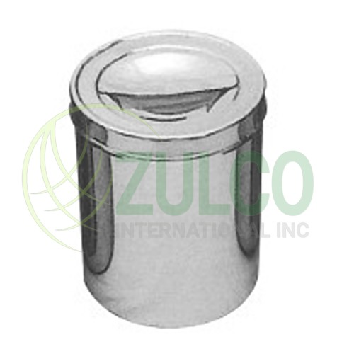 Hollow Wares Forcep Dressing Jar - Item Code 2985