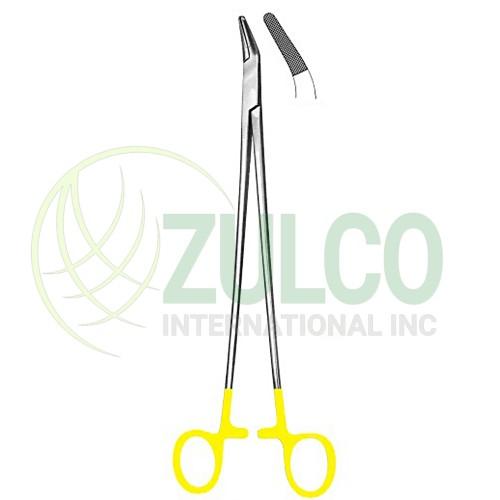 needle Holder with Tungsten Carbide Inserts Finochietto 27 cm - Item Code 3090
