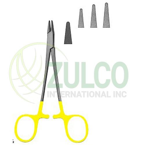needle Holder with Tungsten Carbide Inserts Baumgartner 145 mm - Item Code 3092
