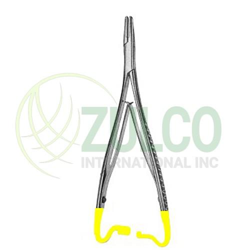 needle Holder with Tungsten Carbide Inserts Mathieu-Kosher 14