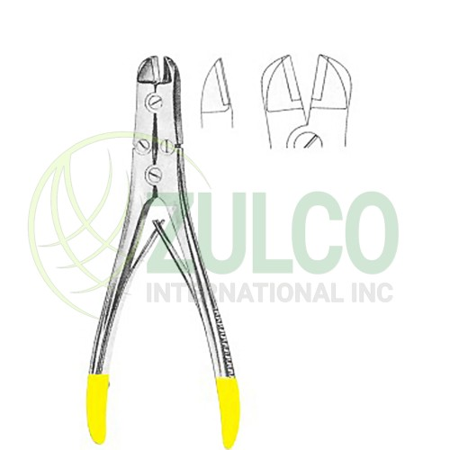 Wire Cutting Plier with T.c. Inserts Plier 17.5 cm - Item Code 3112
